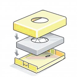 Dispensador Bolsitas íntimas Cromado Dispensadores bolsas higiénicas JVD JV8991315