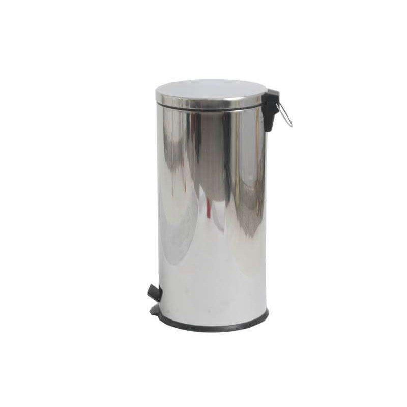 Papelera de baño 30L acero brillo Papeleras Baño JAMI JMPP007AIB1
