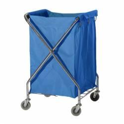 Carro ropa lavandería 210 Litros Azul Laundry Cart Carros Ropa  PI8157AZ