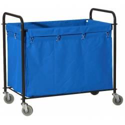 Carro ropa lavandería Rectangular Azul Carros Lavandería  PI8156AZ