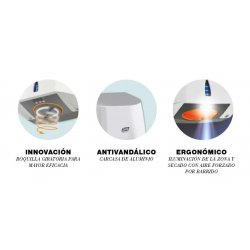 Secamanos eléctrico CoptAir Blanco Secamanos eléctrico JVD JV8111167