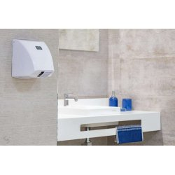 Secamanos eléctrico Blanco Zephyr Secamanos eléctrico JVD JV8111401