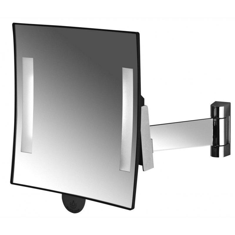 Espejo aumento LED Cuadrado Galaxy Espejos de Aumento JVD JV866964