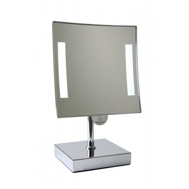 Espejo de aumento con luz sobremesa Galaxy Espejos de Aumento JVD JV866986