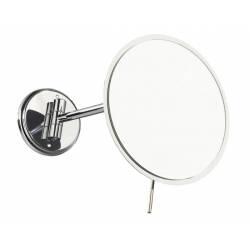 Espejo de aumento pared latón cromo JVD Espejos de Aumento JVD JV866301