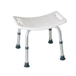 Taburete ducha aluminio patas regulables Asientos de ducha JAMI JMAD224SDI1