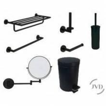 Accesorios baño Negro Mate JVD | HotelesyColectividades.com